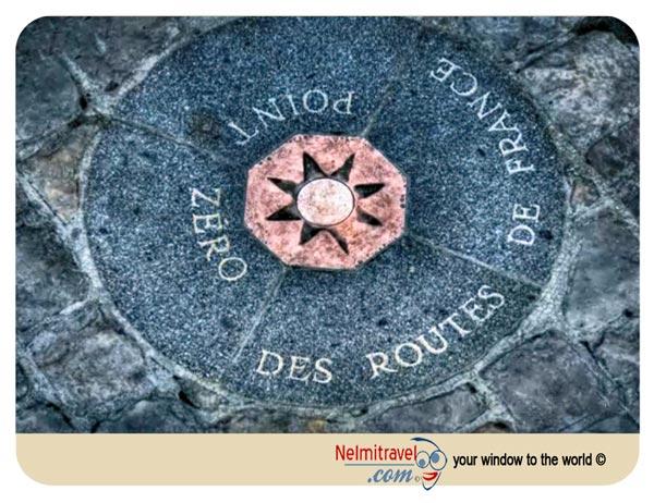 Point Zero,Point Zero in Paris,Point Zero Des Routes De France,Kilometre Zero,Notre Dame de Paris