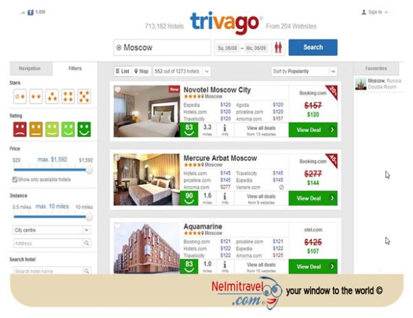 Finding The Best Hotel Deals With Trivago
