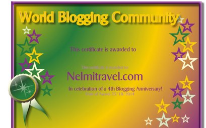 Blog Anniversary, nelmitravel; traveling; travel blog; 4th Blog Anniversary; how to travel; budget travel; cultural travel; travel reviews