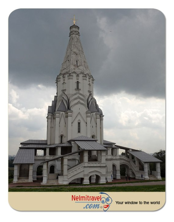 Kolomenskoye Estate; Moscow Tourist Attractions; Church of the Ascension; Kolomenskoye;