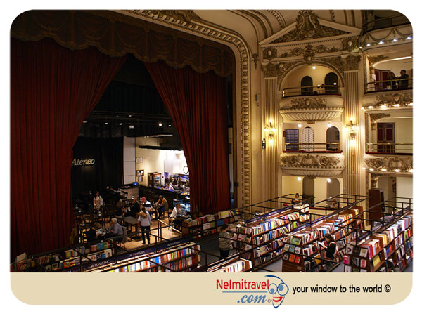 El Ateneo Grand Splendid Bookstore in Buenos Aires |Nelmitravel