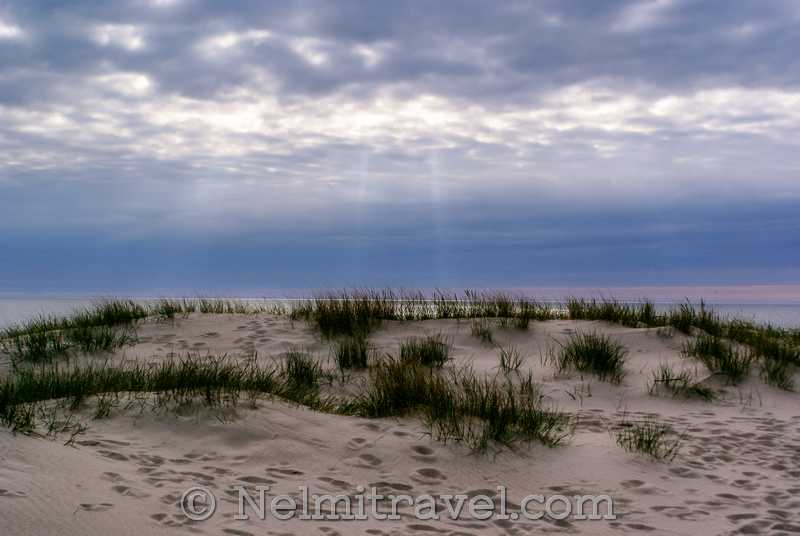 Yantarny Beach Kaliningrad
