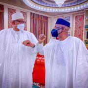 BREAKING: Buhari meets Tunde Bakare in Aso Villa