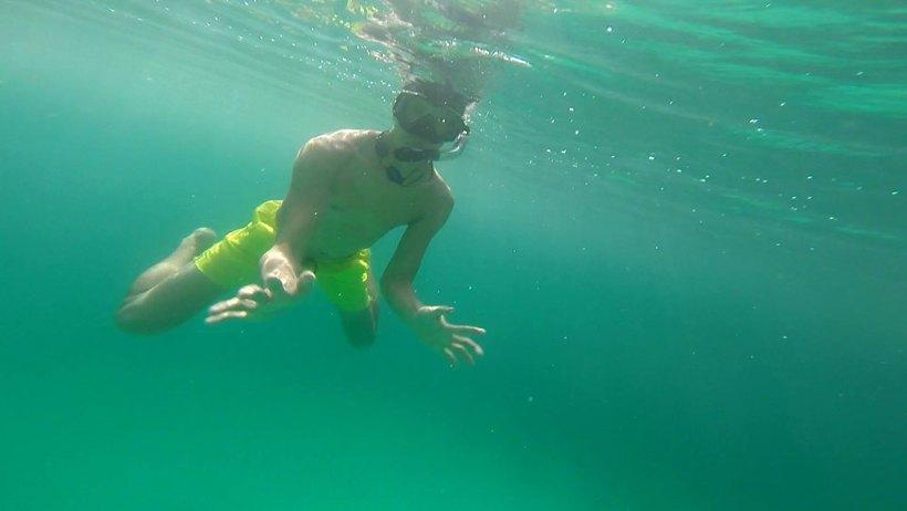 Swimming in Big Lagoon