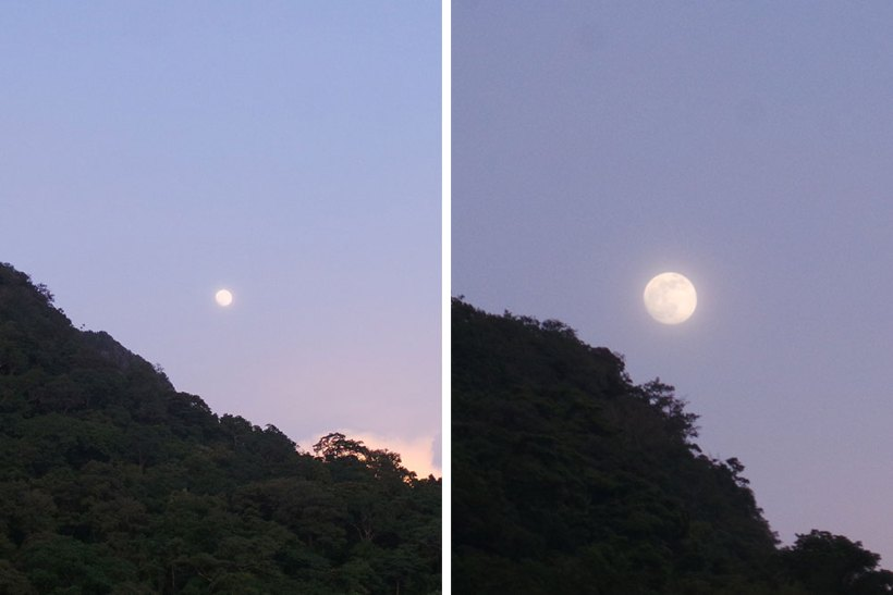 Moon in El Nido