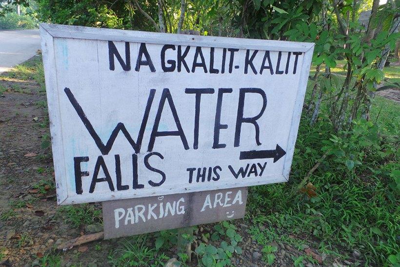 Nagkalit-kalit Falls parking