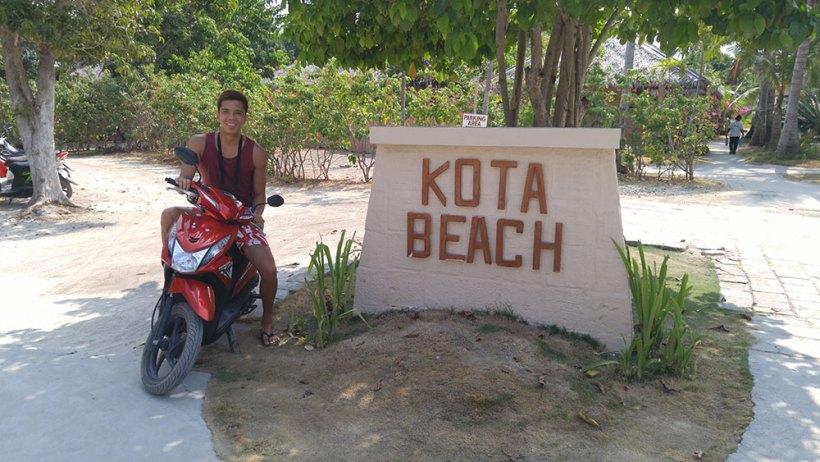 Scooter rental at Kota Beach Resort
