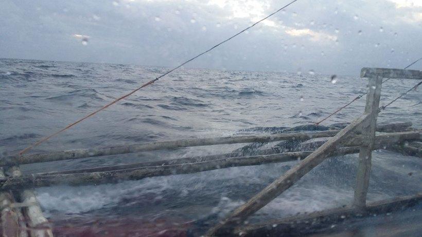Boat ride to Carabao Island