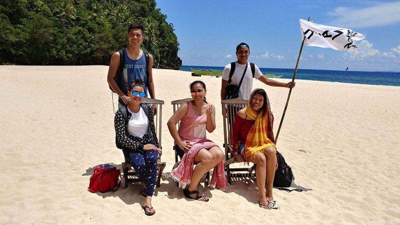 The Hinugtan Beach Team