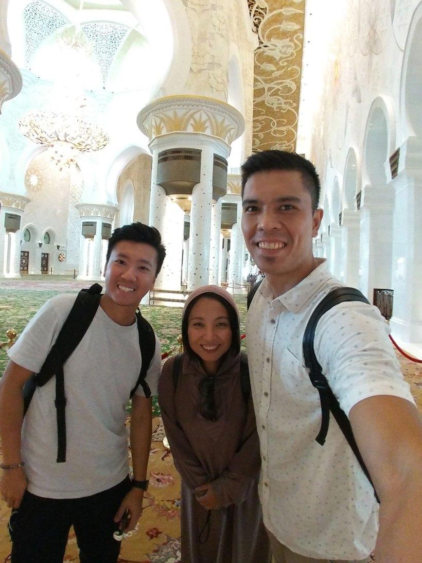Gary, Min, and me
