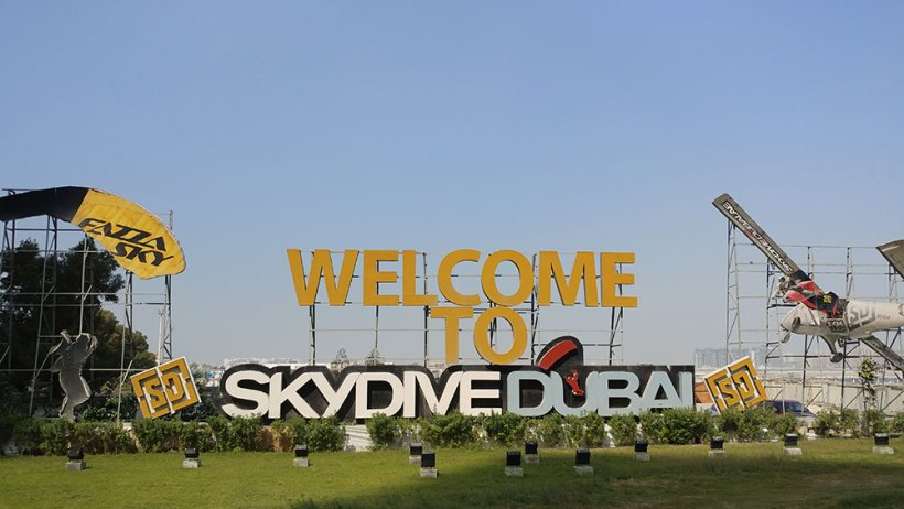 Welcome to Skydive Dubai