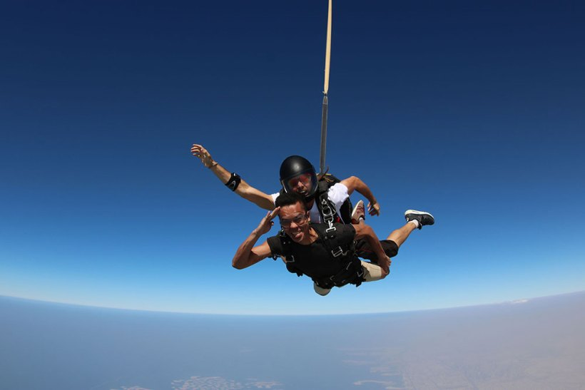 A salute to Skydive Dubai!