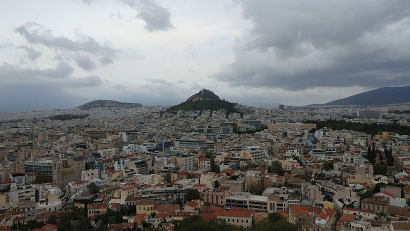 Lycabettus Hill in Athens, Greece