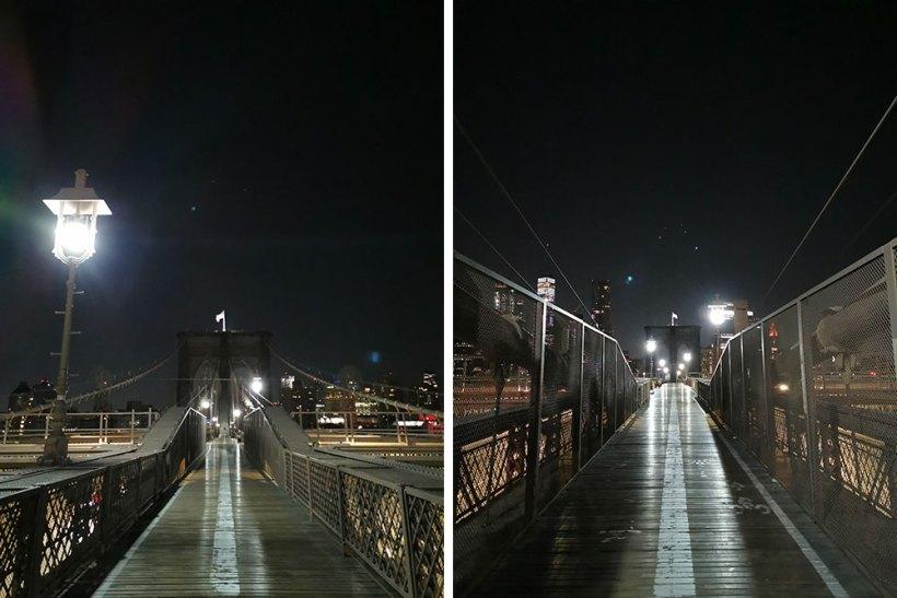 Brooklyn Bridge at night