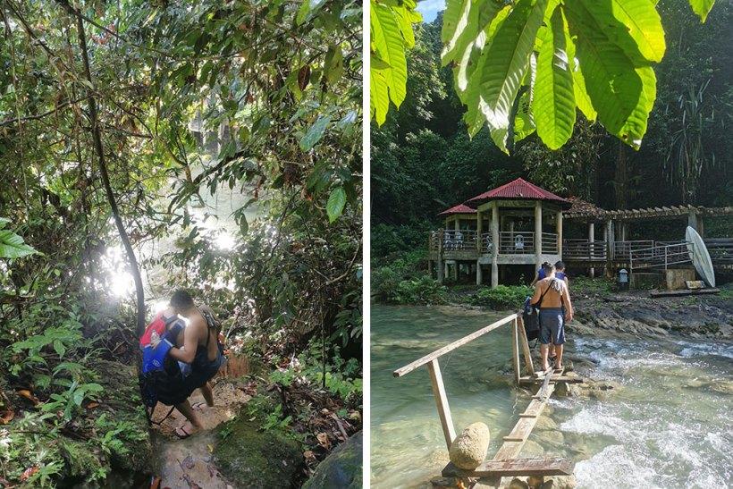 Walk to Bega Falls: Level 1