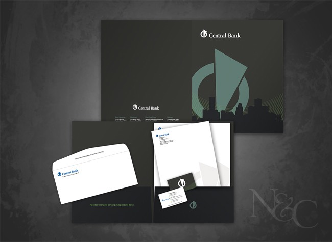 N&C Sugar Land Graphic Design Services - Central Bank