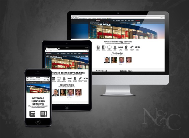 N&C Sugar Land Web Design & Web Development - DataVox