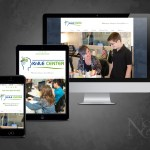 Web site images for web design and web development project completed by Nelson & Co. for KnILE Learning Center.