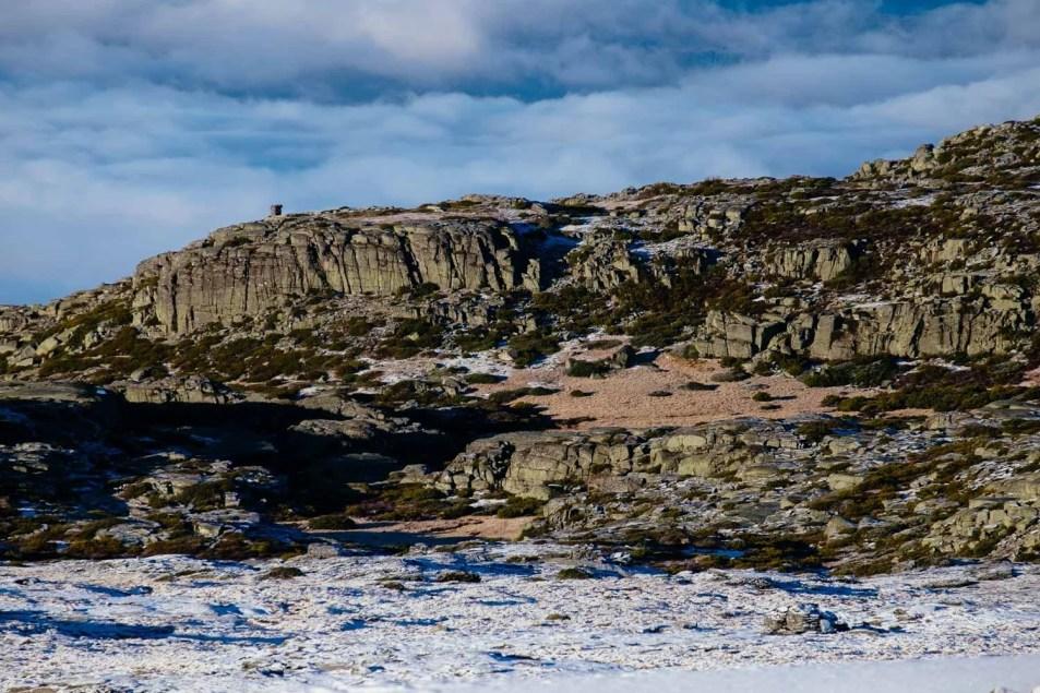 Serra da Estrela in the snow
