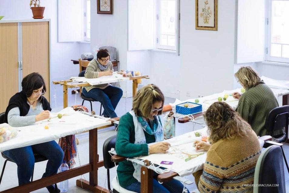 Bordados de Castelo Branco Embroidery Factory, Castelo Branco, 2016 - photo by Emanuele Siracusa for Nelson Carvalheiro Travel & Food and Centro de Portugal