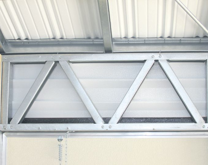 Lark Buildings Accu-steel Diagonal Door Support