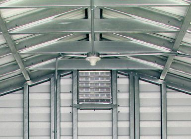 Lark Builders Accu-steel Rigid Roof Frame Sections