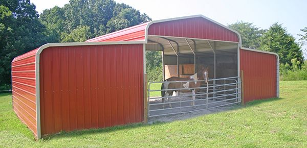 Metal Horse Barn Gainesville, Florida