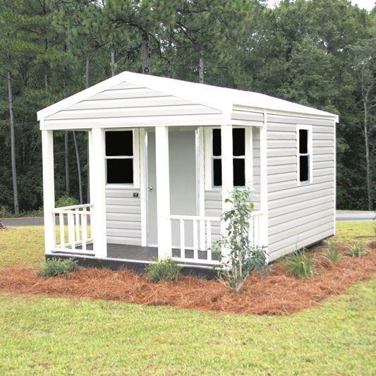 Porch Model Metal Shed Gainesville, FL