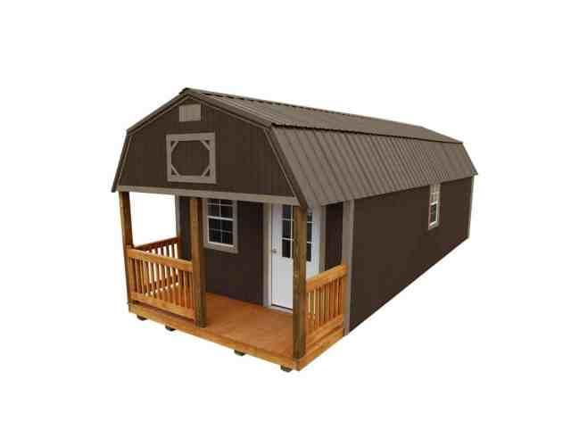 Wooden Cabin Lofted Barn Cabin