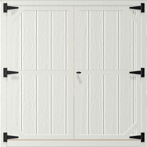 6 Feet Double Wood Door For Portable Wood Building