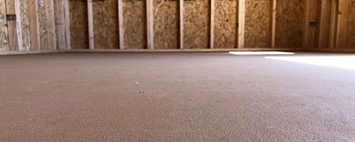 Portable Buildings Quality Flooring