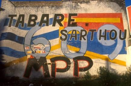 Uruguay, Montevideo, Frente Amplio, mural