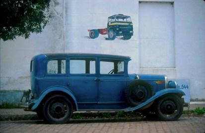 Uruguay, Dp, Colonia, Carmelo, coche antiguo