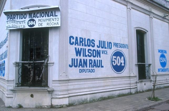 Uruguay, Sede partido politico Banco