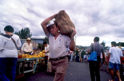 costa Rica, San Juan, mercado dominical