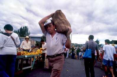 Costa Rica, mercado de San José, mercado