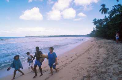 Costa Rica, Playa Cahuita, reserva natural