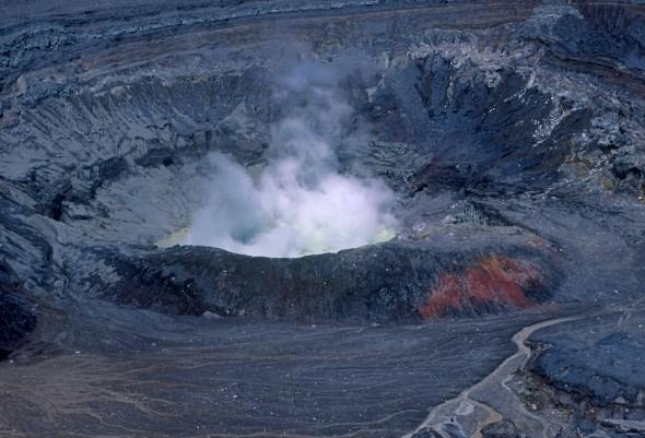 Costa Rica, volcán Poas