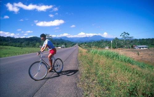 Costa Rica, meseta central, bicicleta