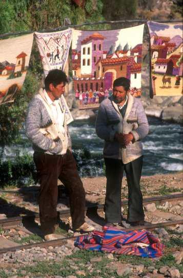 Cusco, venta ambulante