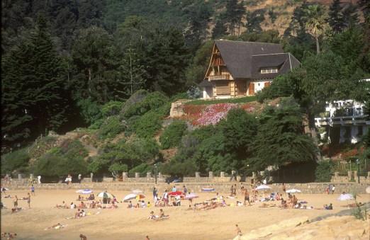 Chile, Zapallar, playa