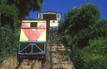 Chile, Valparaiso, ascensor los Larin, transportes