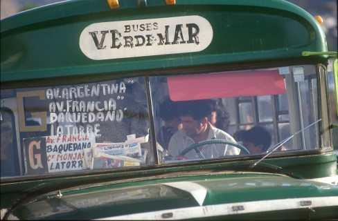 Chile, Valparaiso, Bus, transporte