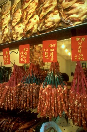 Hong Kong, barrio Jau Mau Tei, mercado