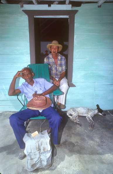 Cuba, Cuba, hora del Pinar del Río, hora del descanso, plantaciones, Tabaco, plantaciones, Tabaco