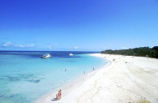 Cuba, Holguín, playa Guardalavaca