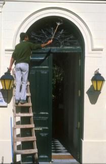 Uruguay, Dp, Colonia, Colonia de Sacramento, mantenimiento