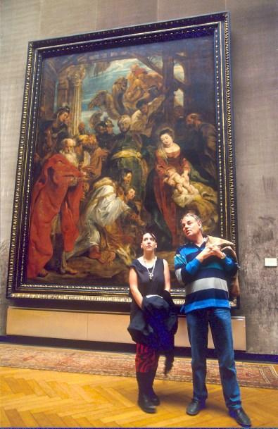 Flandes, Amberes, museo de bellas artes, Rubens