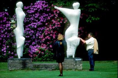 Flandes, Amberes, Parque Middelheim, escultura