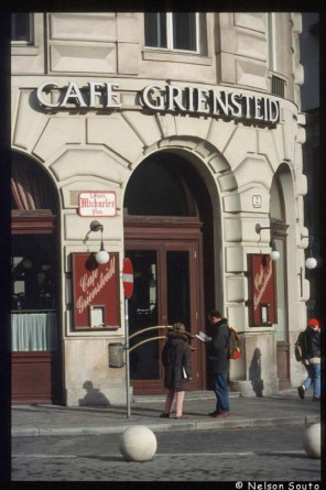 Viena, Cafetería, Griensteid, puerta